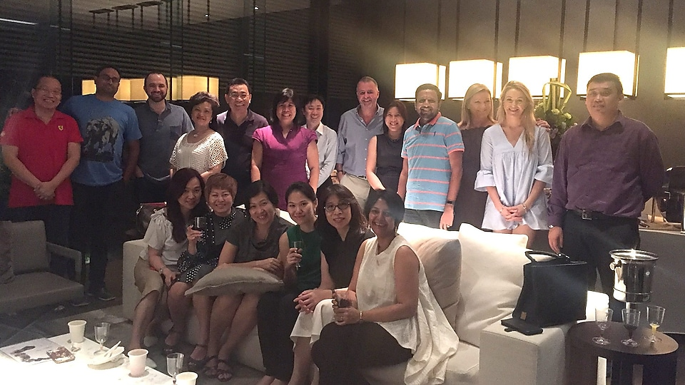 This was a fun evening with my colleagues from Asia Oceania RE leadership team