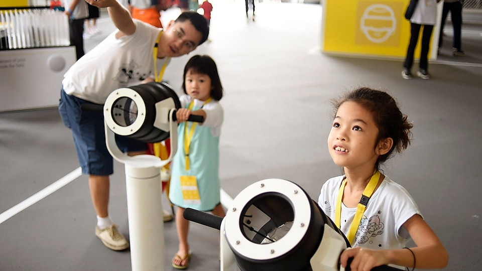 """Shell"" moves children at the future conference to experience the fun of energy innovation"